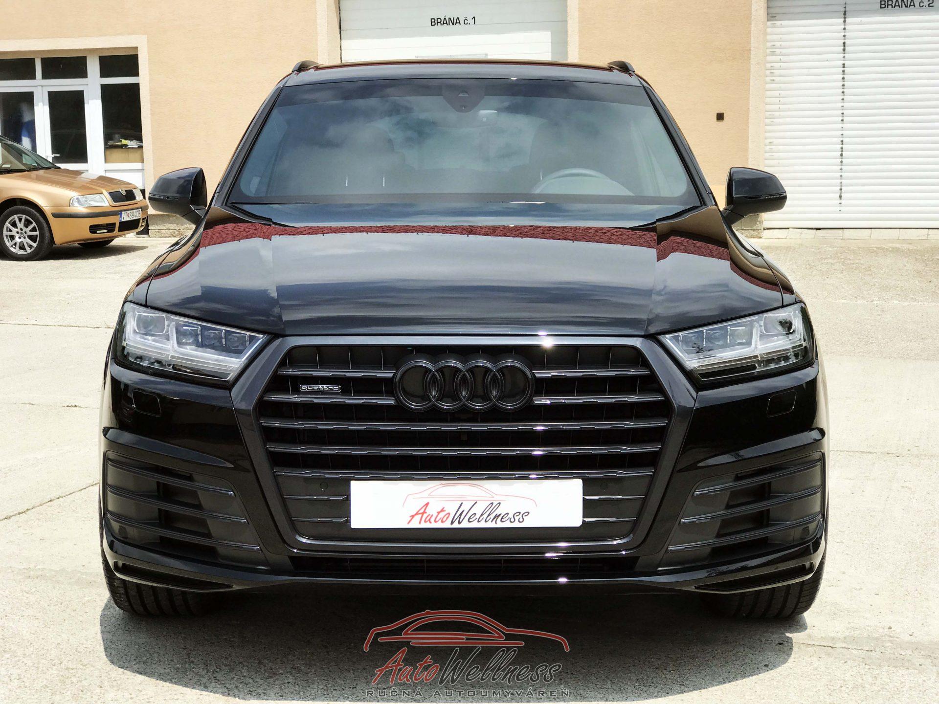 Audi Q7 – keramická ochrana laku